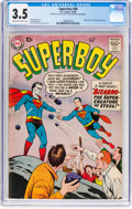 Silver Age (1956-1969):Superhero, Superboy #68 (DC, 1958) CGC VG- 3.5 Cream to off-white pages....