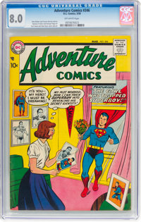 Adventure Comics #246 (DC, 1958) CGC VF 8.0 Off-white pages