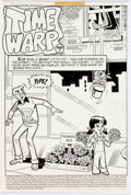 Original Comic Art:Complete Story, Stan Goldberg and Rudy Lapick Life with Archie #197 CompleteStory Original Art Group of 11 (Archie Comics, 1978).... (Total: 11Items)