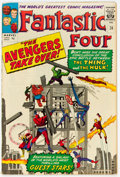 Silver Age (1956-1969):Superhero, Fantastic Four #26 UK Edition (Marvel, 1964) Condition: FN....