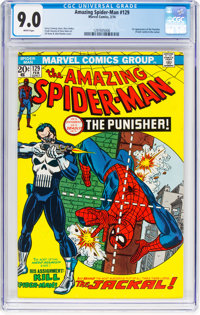 The Amazing Spider-Man #129 (Marvel, 1974) CGC VF/NM 9.0 White pages