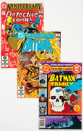 Modern Age (1980-Present):Superhero, Detective Comics Group of 67 (DC, 1979-96) Condition: Average VF.... (Total: 67 )