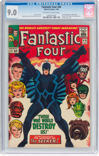 Fantastic Four #46 (Marvel, 1966) CGC VF/NM 9.0 Off-white to white pages