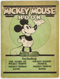 Platinum Age (1897-1937):Miscellaneous, Mickey Mouse Book Later Printing - Incomplete (Bibo & Lang, 1931) Condition: PR....