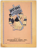 Platinum Age (1897-1937):Miscellaneous, Just Kids #283 Incomplete (McLoughlin Bros., Inc., 1932) Condition:Coverless....