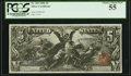 Fr. 269 $5 1896 Silver Certificate PCGS Choice About New 55