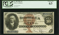 Large Size:Silver Certificates, Fr. 288 $10 1880 Silver Certificate PCGS Choice New 63.. ...