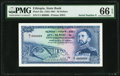 Ethiopia State Bank of Ethiopia 50 Dollars ND (1961) Pick 22a PMG Gem Uncirculated 66 EPQ