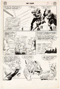 Original Comic Art:Panel Pages, Carmine Infantino and Joe Giella Flash #133 Story Page 9 Original Art (DC, 1962)....