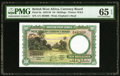 British West Africa West African Currency Board 10 Shillings 4.2.1958 Pick 9a PMG Gem Uncirculated 65 EPQ