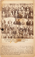 Photography:CDVs, Radical Members of the South Carolina Legislature Carte de Visite....