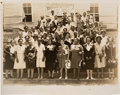 Photography, Group Photo of First Annual Convention of Texas State Association of Negro Beauty Allurists....