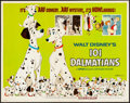 """Movie Posters:Animation, 101 Dalmatians & Other Lot (Buena Vista, R-1969). Rolled, Fine/Very Fine. Half Sheets (2) (22"""" X 28""""). Animation.. ... (Total: 2 Items)"""
