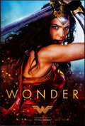 "Movie Posters:Action, Wonder Woman (Warner Brothers, 2017). Rolled, Very Fine+. One Sheet (27"" X 40"") DS Advance, Wonder Style. Action.. ..."
