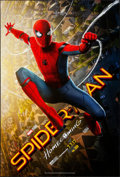 "Movie Posters:Action, Spider-Man: Homecoming (Columbia, 2017). Rolled, Very Fine-. One Sheet (27"" X 40"") DS Advance 3-D Style. Action.. ..."