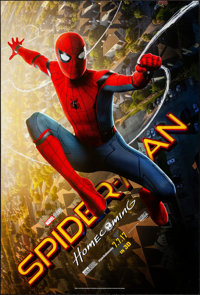 """Spider-Man: Homecoming (Columbia, 2017). Rolled, Very Fine-. One Sheet (27"""" X 40"""") DS Advance 3-D Style. Actio..."""