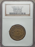 20th Century Tokens and Medals, (circa 1899-1914) Pony Saloon, 12 1/2 Cents, Tombstone, AZ, MS62 NGC.. From The Coco Collection. ...