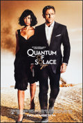 """Movie Posters:James Bond, Quantum of Solace (MGM, 2008). Rolled, Very Fine/Near Mint. One Sheet (26.75"""" X 39.75"""") DS Advance. James Bond.. ..."""