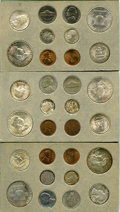 Mint Sets, Uncertified 1951 Double Mint Set and Proof Set. The double mint set includes 30 coins, two of each denomination struck at th... (Total: 35 coins)