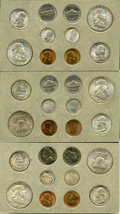 Mint Sets, Uncertified 1953 Double Mint Set and Proof Set. The double mint set includes 30 coins, two of each denomination struck at th... (Total: 35 coins)