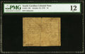 Colonial Notes:South Carolina, South Carolina October 19, 1776 $1 PMG Fine 12.. ...