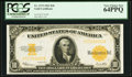 Fr. 1173 $10 1922 Gold Certificate PCGS Very Choice New 64PPQ