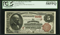 San Francisco, CA - $5 1882 Brown Back Fr. 475 The San Francisco NB Ch. # (P)5096 PCGS Choice About New