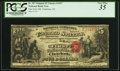 National Bank Notes:North Carolina, Charlotte, NC - $5 Original Fr. 397 The First NB Ch. # 1547 PCGS Very Fine 35.. ...