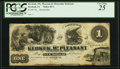 Obsoletes By State:Iowa, Keokuk, IA- Keokuk, Mt. Pleasant and Muscatine Rail Road $1 PostNote 18__ Remainder Oakes 83-1 / 84-1 PCGS Very Fine 25....