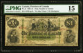 Canadian Currency, PC-2c $1 1866 PMG Choice Fine 15. ST. JOHN is ...
