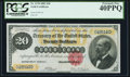 Large Size:Gold Certificates, Fr. 1178 $20 1882 Gold Certificate PCGS Extremely Fine 40PPQ.. ...