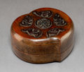 Carvings, A Chinese Decorative Box. 4-1/4 x 4-1/2 x 2-1/4 inches (10.8 x 11.4 x 5.7 cm). PROPERTY FROM A BEVERLY HILLS ESTATE. ...