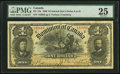 Canadian Currency, DC-13a $1 1898 PMG Very Fine 25.. ...