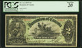Canadian Currency, DC-14c $2 1897 PCGS Very Fine 20.. ...