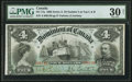 Canadian Currency, DC-17a $4 1902 PMG Very Fine 30 Net.. ...