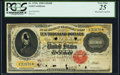 Large Size:Gold Certificates, Fr. 1225e $10,000 1900 Gold Certificate PCGS Very Fine 25.. ...