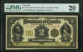 Canadian Currency, DC-22d $2 1914 PMG Very Fine 20.. ...