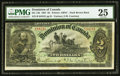 Canadian Currency, DC-14b $2 1897 PMG Very Fine 25.. ...