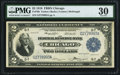 Fr. 766 $2 1918 Federal Reserve Bank Note PMG Very Fine 30