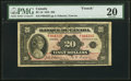 Canadian Currency, BC-10 $20 1935 PMG Very Fine 20.. ...