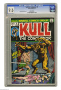 Bronze Age (1970-1979):Miscellaneous, Kull the Conqueror #8 (Marvel, 1973) CGC NM+ 9.6 White pages. JohnSeverin cover. Marie Severin and John Severin art. Adapte...