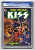 Magazines:Miscellaneous, Marvel Super Special #5 (Marvel, 1978) CGC NM 9.4 White pages. KISSissue. Includes KISS poster and Marvel bullpen biographi...