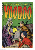 Golden Age (1938-1955):Horror, Miscellaneous Golden Age Horror Group (Various Publishers,1952-53). This group includes Voodoo #1 (GD) and Unseen #...(Total: 2 Comic Books Item)