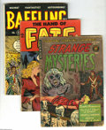 Golden Age (1938-1955):Horror, Miscellaneous Golden Age Horror Group (Various Pubishers, 1952-53).Spooky set of Golden Age horror books, including Stran... (Total: 4Comic Books Item)