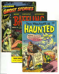 Miscellaneous Golden Age Horror Group (Various Publishers, 1952-54) Condition: Average VG. This group includes This Maga...