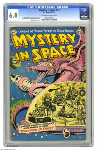 Mystery in Space #14 (DC, 1953) CGC FN 6.0 Off-white to white pages. Gil Kane cover. Kane, Murphy Anderson, and Carmine...