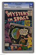 Silver Age (1956-1969):Science Fiction, Mystery in Space #31 (DC, 1956) CGC FN+ 6.5 Cream to off-white pages. Gil Kane cover. Kane and Carmine Infantino art. Overst...