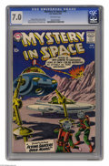 Silver Age (1956-1969):Science Fiction, Mystery in Space #45 (DC, 1958) CGC FN/VF 7.0 Off-white pages. Gil Kane cover. Carmine Infantino and Murphy Anderson art. Th...