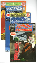 Bronze Age (1970-1979):Horror, The Phantom Stranger Group (DC, 1971-76) Condition: Average VF+.Eleven-issue lot includes #13, 20 (Dark Cycle begins), 21, ...(Total: 11 Comic Books Item)
