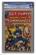 Silver Age (1956-1969):Superhero, Sgt. Fury and His Howling Commandos #13 (Marvel, 1964) CGC FN+ 6.5 Cream to off-white pages. Captain America and Bucky appea...